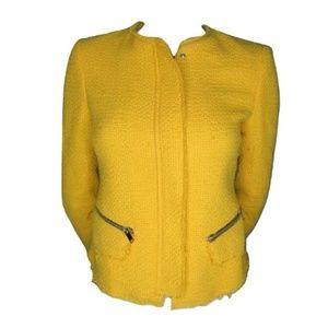 Zara Woman Yellow Jacket Size Small